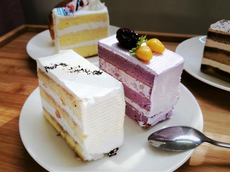 Various cakes from The Pine Garden in Ang Mo Kio