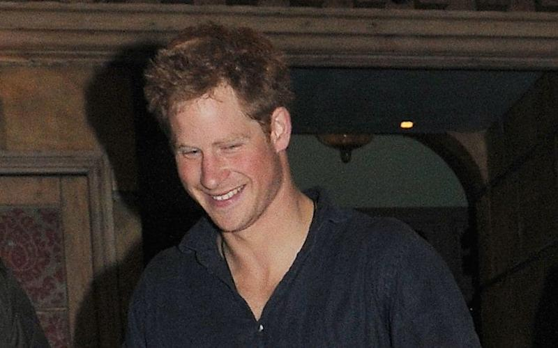 Prince Harry Prince Harry leaving Public nightclub, London, Britain - 25 Sep 2011  - Credit: Rex Features