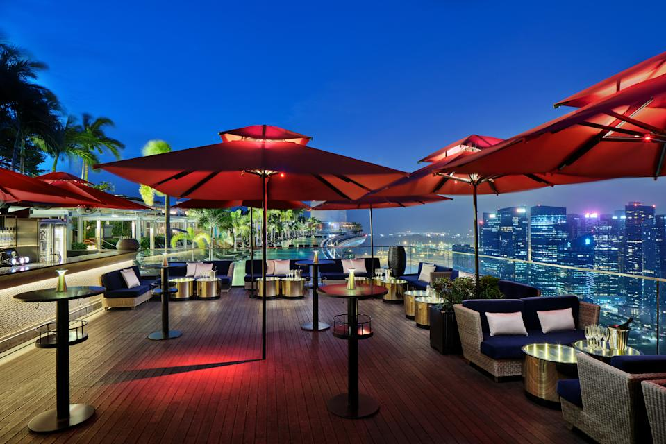 Sky Lounge. (PHOTO: Ce La Vi)