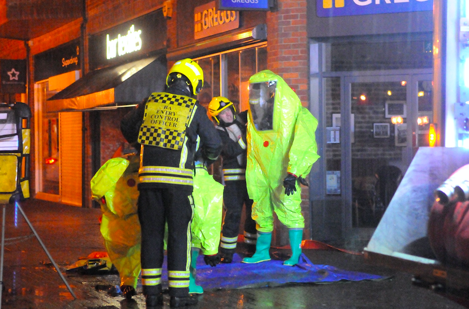 <em>Salisbury was the focus of a huge police investigation following the attack (Rex)</em>