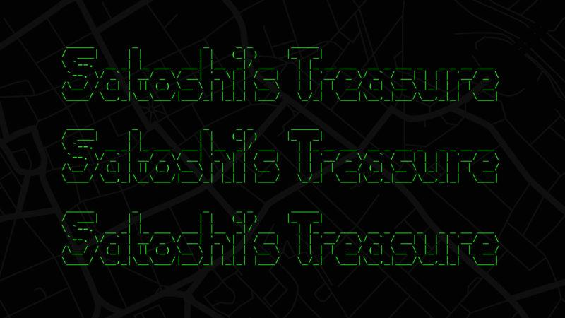 We talked to the co-creator of Satoshi's Treasure, the million-dollar global bitcoin scavenger hunt