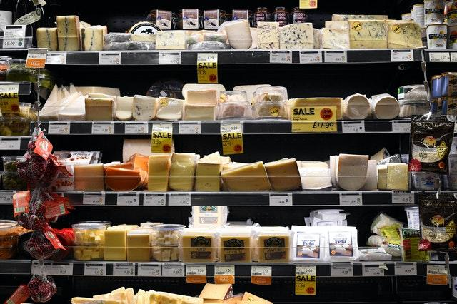 Cheese in a Whole Foods Market shop in London (Kirsty O'Connor/PA)