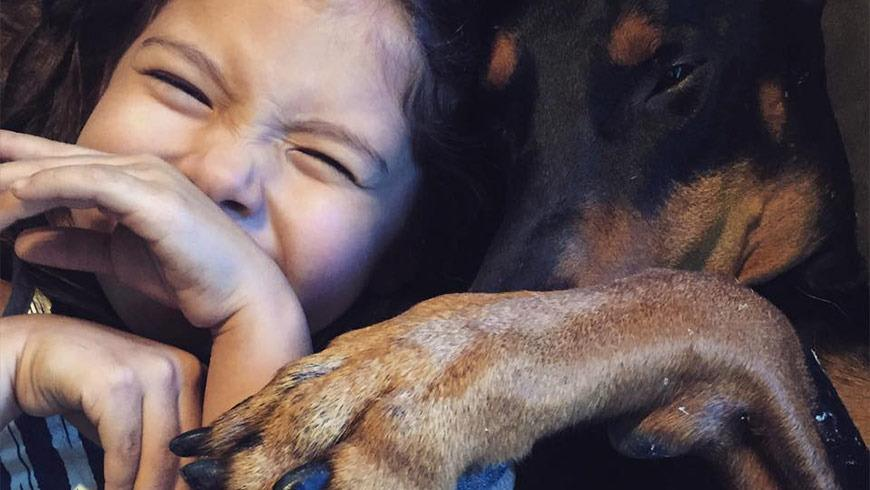 Girl's Adorable Relationship With Dog Will Melt Your Heart