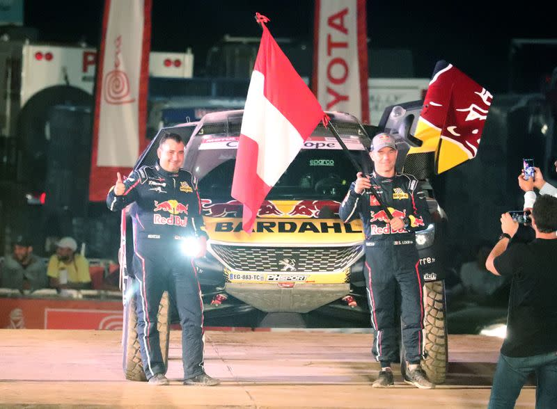 You think I'm fat? Sod off, says Loeb's co-driver