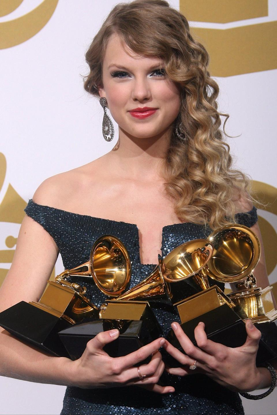 Swift has the clout to change the music industryAFP/Getty Images