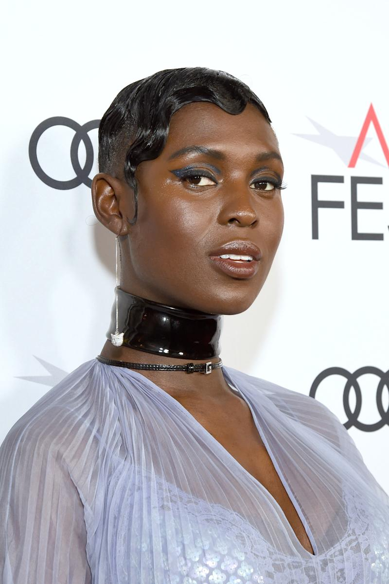 Jodie Turner-Smith Dazzles at the Queen & Slim Premiere With Glossy Finger Waves and Graphic Liner