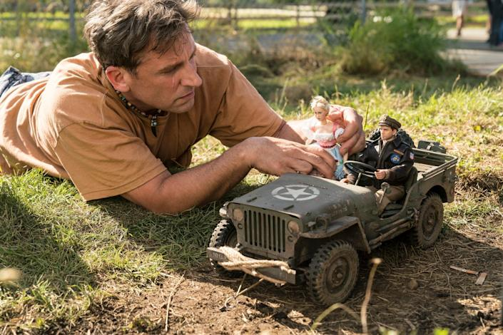 <p>Steve Carell in 'Welcome to Marwen'</p>Ed Araquel/Universal Pictures via AP