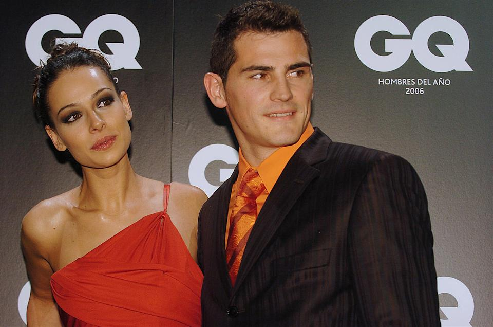 Eva Gonzalez and Iker Casillas   (Photo by Eduardo Parra/FilmMagic)