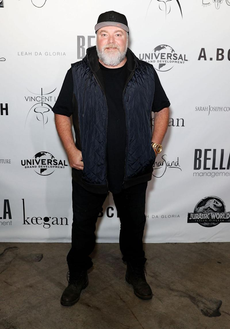 Imogen's boyfriend Kyle Sandilands was on hand to support her. Source: Getty