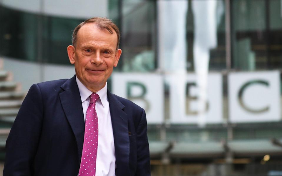 Andrew Marr has hosted the BBC's flagship political programme on Sundays since 2005 - GC Images