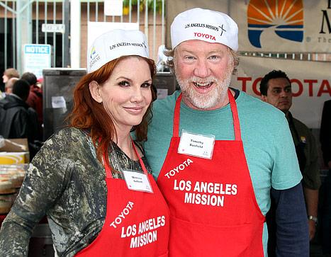 """Melissa Gilbert Engaged: She and Fiance Timothy Busfield """"Looked Really in Love"""" on PDA Packed Date"""