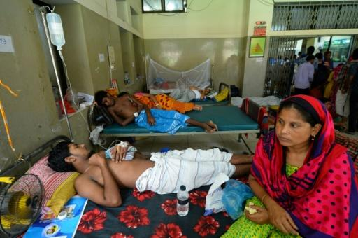 Hospitals in Bangladesh are struggling to cope with the dengue outbreak