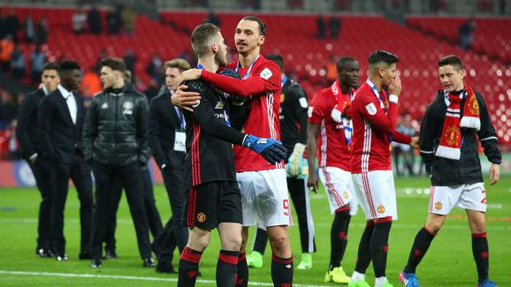 Manchester United v Southampton - EFL Cup Final