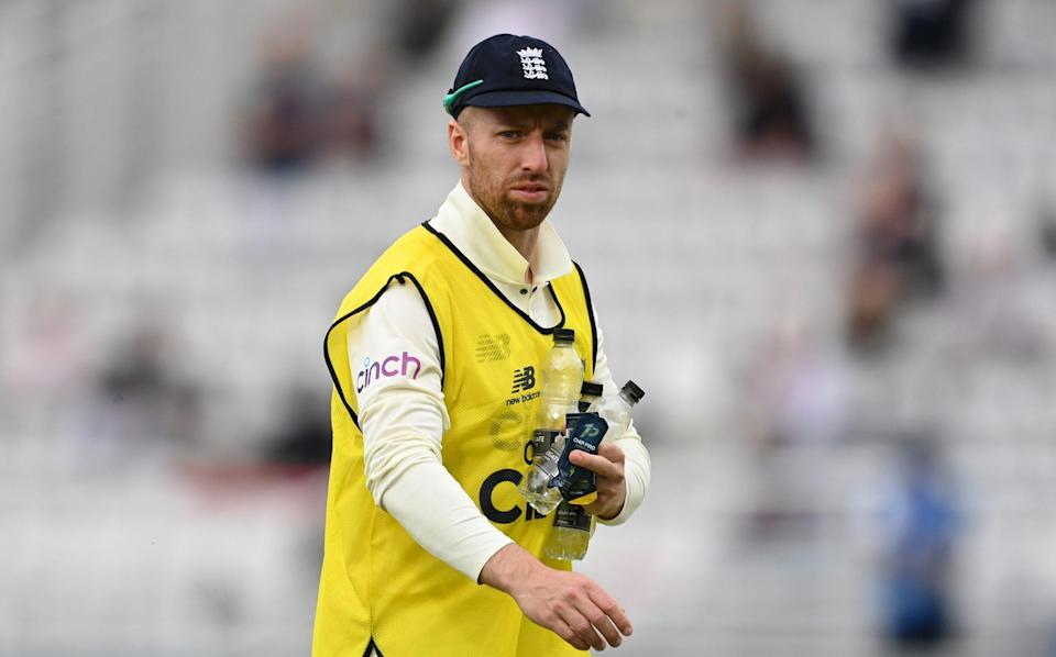 Jack Leach. - GETTY IMAGES