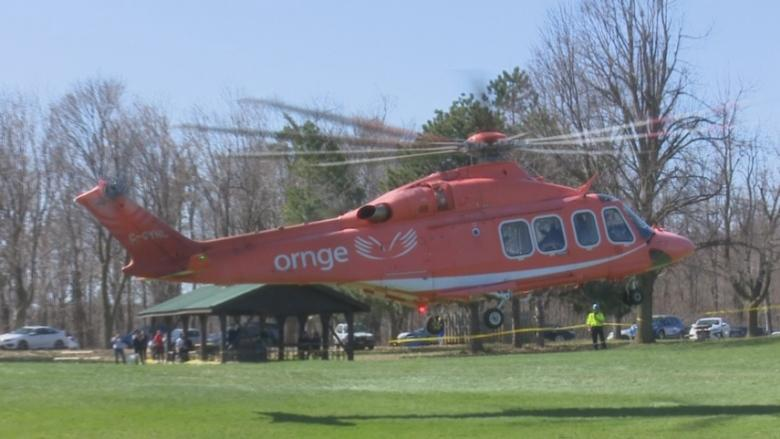 Rock climber airlifted to hospital after falling at Rattlesnake Point
