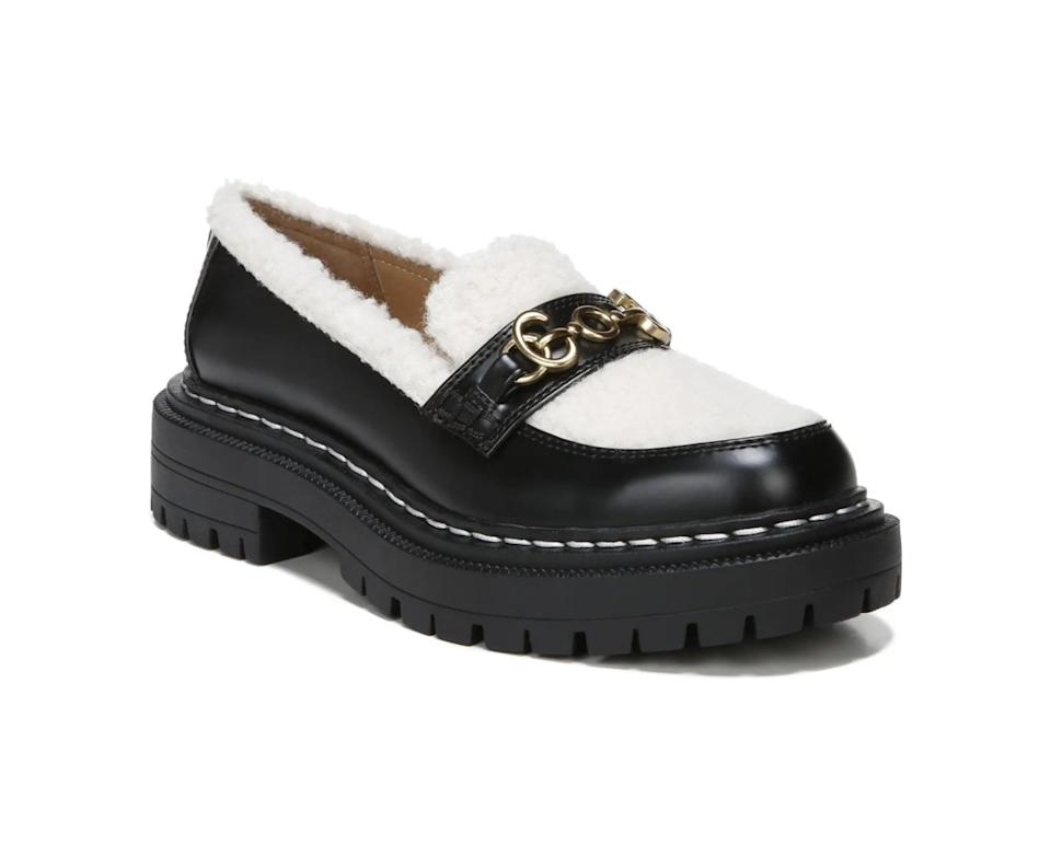 <p>Cozy anything is the defining mood of cold-weather dressing, so this <span>Circus by Sam Edelman Eileen Loafer</span> ($90) is an attractive option. The shearling lining makes it winter-friendly, whole the construction is practical and versatile enough for year-round wearability.</p>