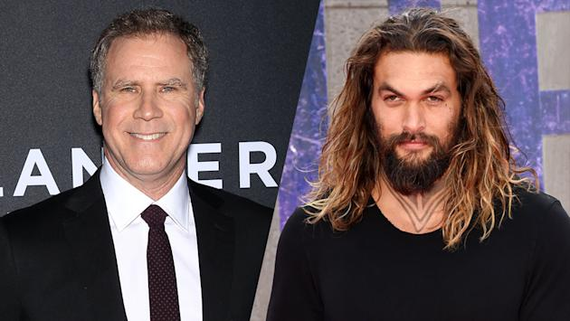 Ferrell, Momoa to star in comedy film