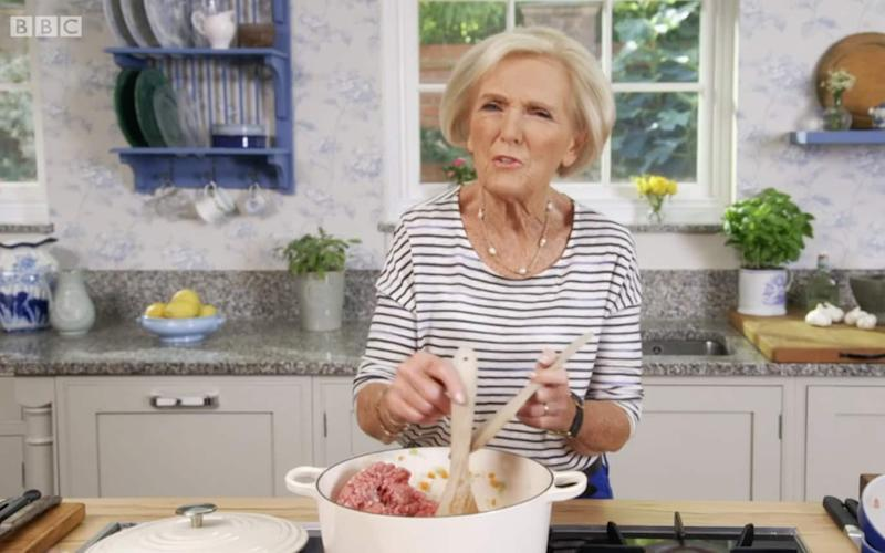 Mary Berry  - Credit: BBC