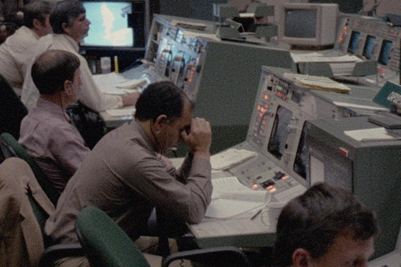 The NASA ground team after the Challenger tragedy (Photo: Public Domain/NASA)