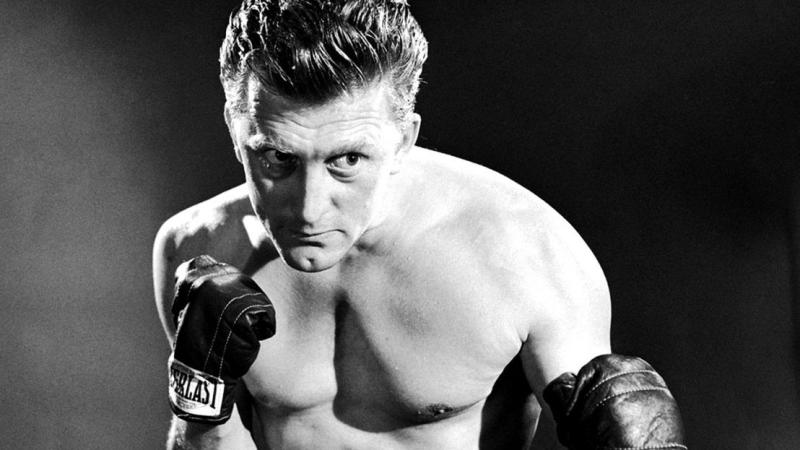 Kirk Douglas in 1949 boxing drama 'Champion'. (Credit: United Artists)
