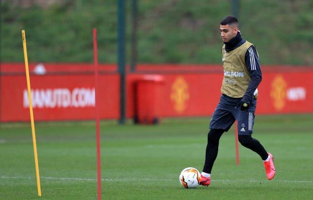 Andreas Pereira is set to head on loan to Brazil