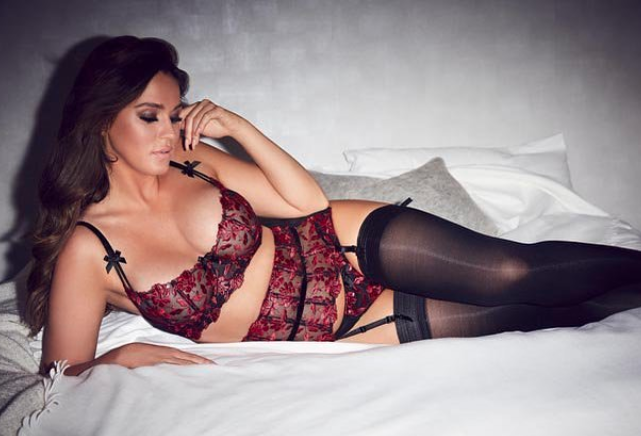 Vicky - posing here for an Ann Summers campaign - reflected on her time on Geordie Shore. Source: Instagram / vickypattison