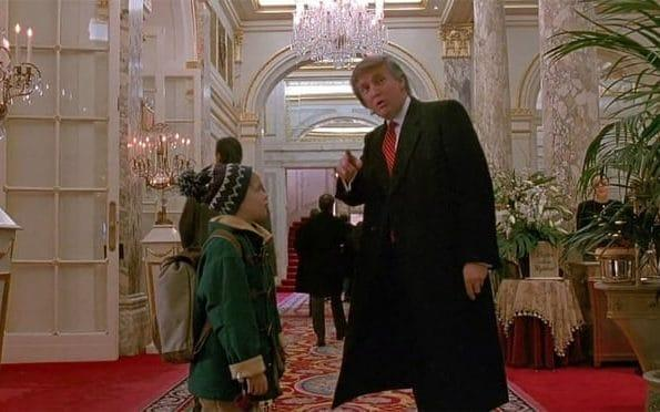 Donald Trump featured in Home Alone 2 in 1992