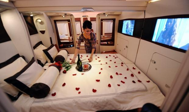 <p>A new TV show is flying us First Class with a peek inside Singapore Airline's incredible new luxury suites - and they're everything you expected and more.</p>