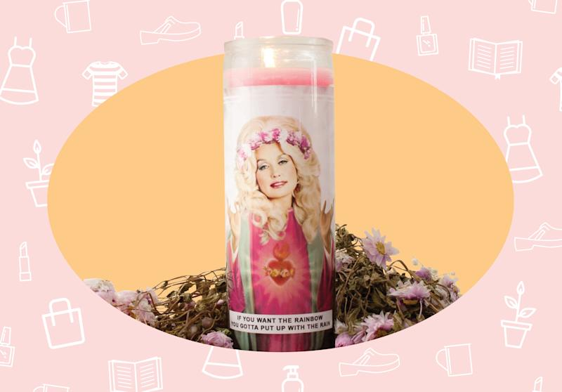 WANT/NEED: A Saint Dolly Parton prayer candle, and more stuff you want to buy