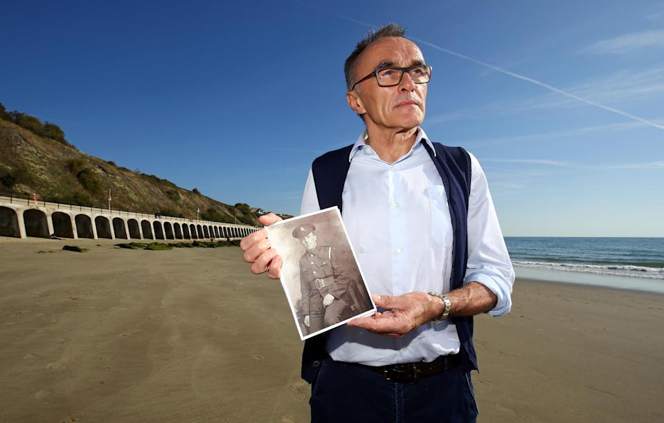 Danny Boyle is asking people to gather on beaches across the UK on November 11 (PA)