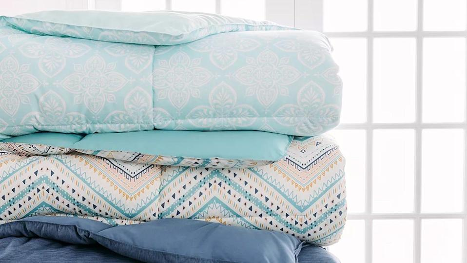 Get cozy at home with this The Big One comforter on sale this week.