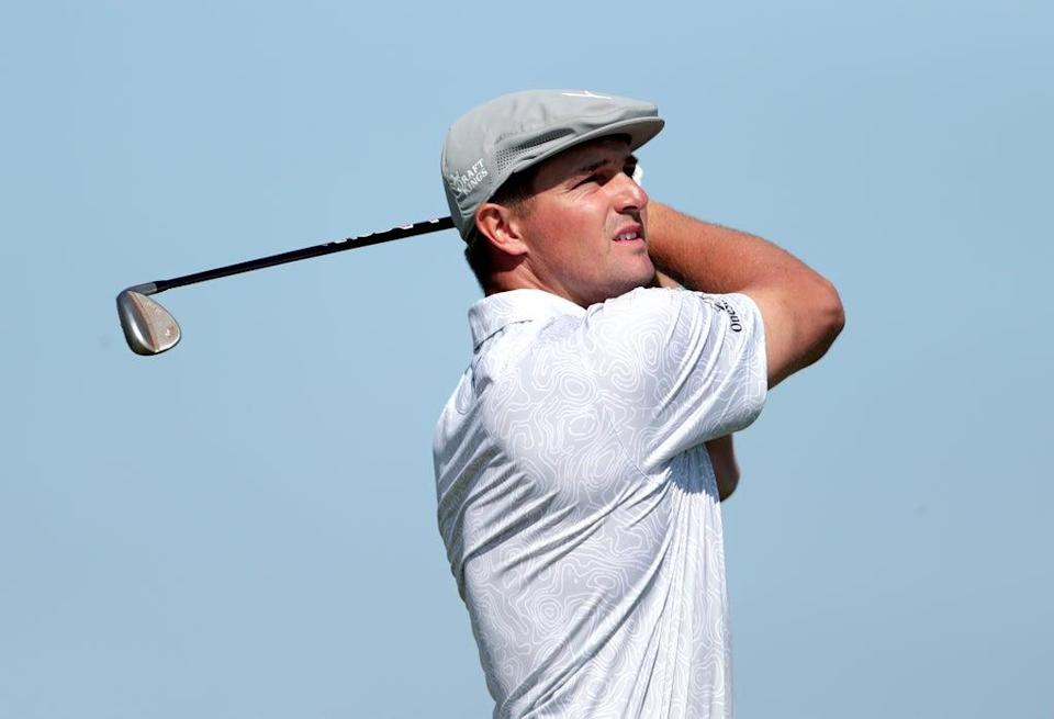 Big-hitting players such as Bryson DeChambeau have forced golf's lawmakers to find new ways to restrict distance (Richard Sellers/PA) (PA Wire)