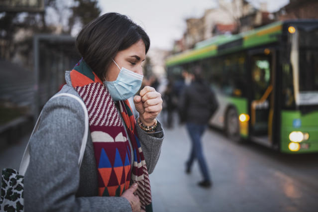A cough is one of the tell-tale symptoms of the coronavirus. (Getty Images)