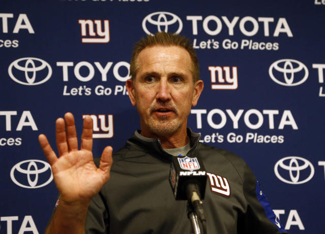 """Former <a class=""""link rapid-noclick-resp"""" href=""""/nfl/teams/ny-giants/"""" data-ylk=""""slk:New York Giants"""">New York Giants</a> defensive coordinator Steve Spagnuolo will run the Chiefs defense. (AP)"""