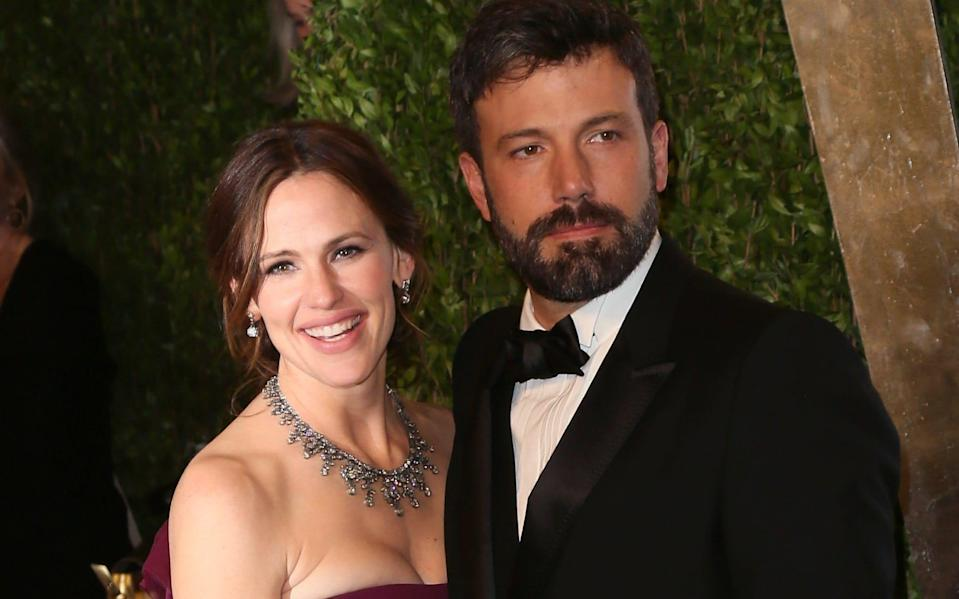 Affleck and Garner announced their divorce in 2015, a decade after they got married - David Livingston/Getty Images