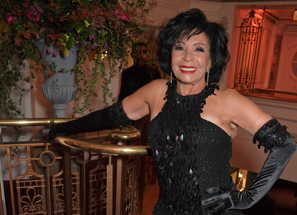 Dame Shirley Bassey  (Photo: David M. Benett via Getty Images)
