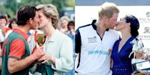 """<p>As Peter Morgan told <a href=""""https://www.vanityfair.com/hollywood/2020/09/the-crowns-charles-and-diana-exclusive-visit"""" rel=""""nofollow noopener"""" target=""""_blank"""" data-ylk=""""slk:Vanity Fair"""" class=""""link rapid-noclick-resp""""><em>Vanity Fair</em></a>, """"Diana struggled to fit in with the institution in a way that it's impossible not to see the parallels with Meghan Markle and Harry. So the story feels both incredibly vivid historically, but also it really shines a lot of lights on where we are now.""""</p>"""