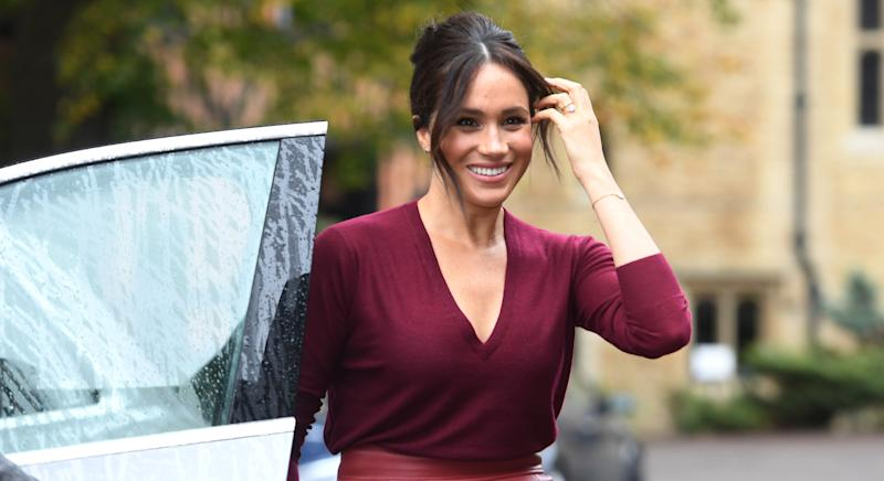 Royal fans can't believe how little Meghan Markle has aged since her school days [Image: Getty]