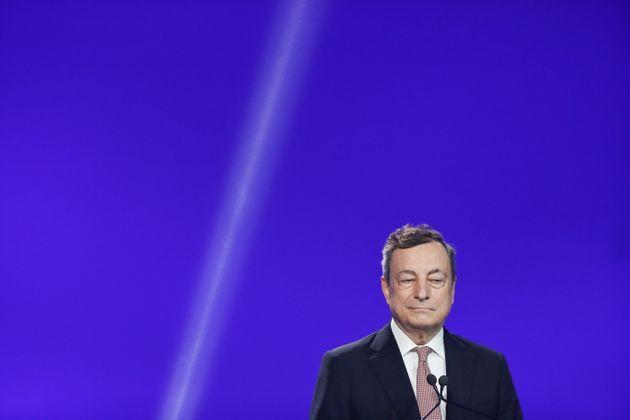 Italian Prime Minister Mario Draghi attends a joint news conference with European Commission President Ursula von der Leyen (not pictured), in Rome, Italy, June 22, 2021. REUTERS/Remo Casilli (Photo: Remo Casilli via Reuters)