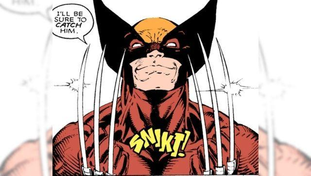 Wolverine extends his claws. Author provided