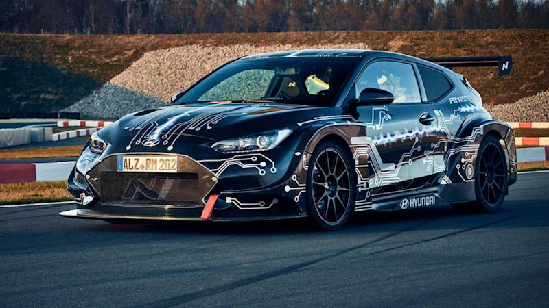 Hyundai RM20e Revealed As Electric Hot Hatch With 800 Horsepower