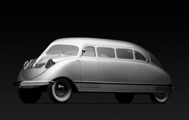 World's first production minivan to be displayed at the UK's Concours of Elegance 2019