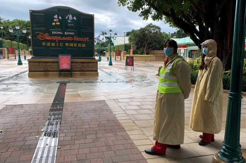 Disney to shut Hong Kong Disneyland again as coronavirus cases rise