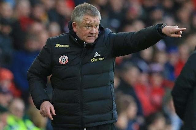 Chris Wilder has taken Sheffield United from the third tier to the Premier League since taking over in 2016 (AFP Photo/Lindsey Parnaby)