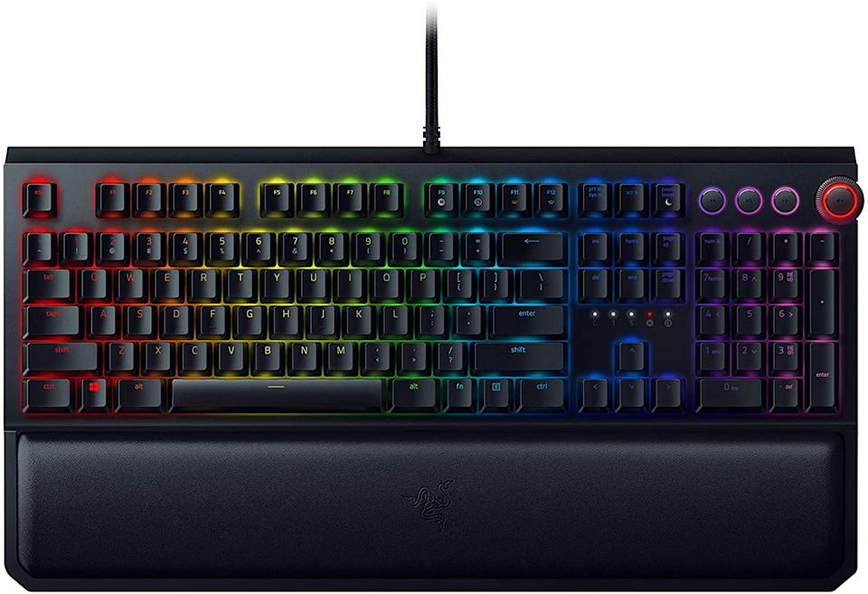 Save 43% on the Razer BlackWidow Elite Mechanical Gaming Keyboard. Image via Amazon.