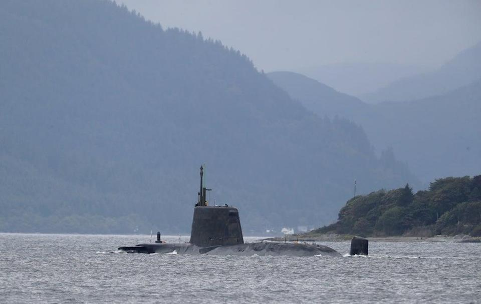 The UK has been using nuclear-powered submarines for decades (Andrew Milligan/PA) (PA Archive)