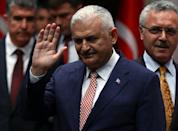 Turkish Transport Minister Binali Yildirim will become the new premier after he was appointed chairman of the ruling AKP (Justice and Development Party) at a meeting in Ankara, on May 19, 2016