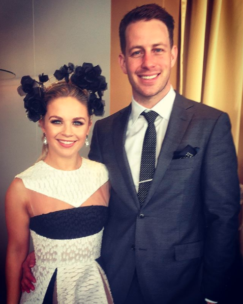 The sports presenter took to Instagram to share the happy news. Photo: Instagram