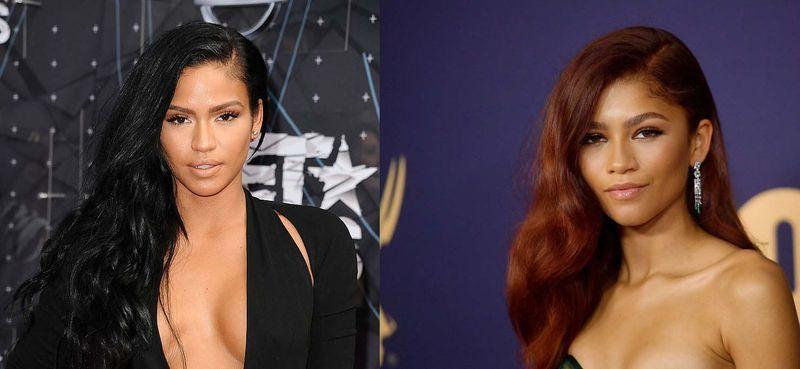 """<p>The multi-hyphenated performer Zendaya bares a striking resemblance to the 00s' RNB icon. Back in 2013, Zendaya even referred to Cassie as 'sissy' <a href=""""https://twitter.com/Zendaya/status/308055334113669120"""" rel=""""nofollow noopener"""" target=""""_blank"""" data-ylk=""""slk:in a tweet."""" class=""""link rapid-noclick-resp"""">in a tweet.</a></p>"""