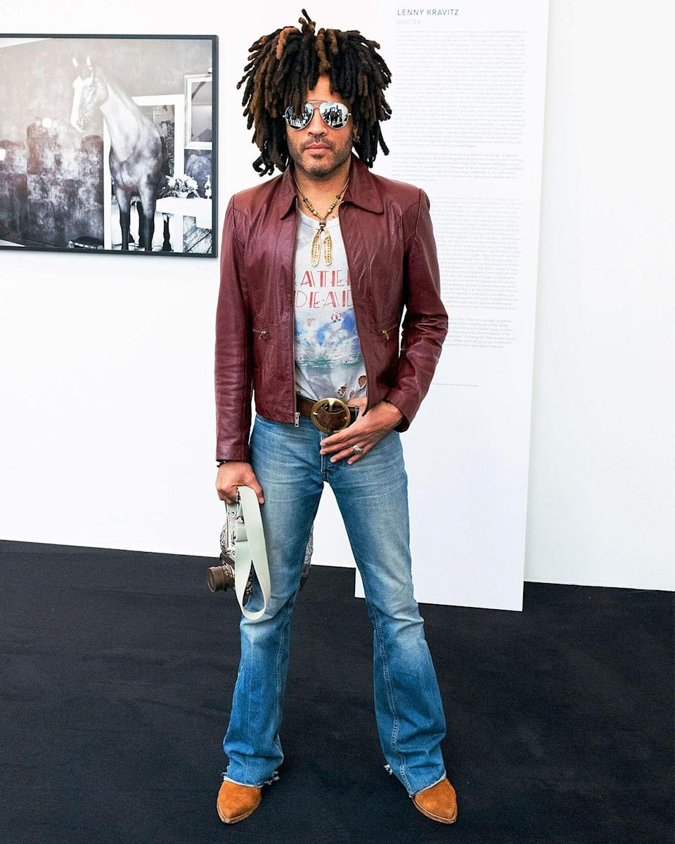 """<h1 class=""""title"""">May 24: Lenny Kravitz</h1> <div class=""""caption""""> There's only one Lenny! </div> <cite class=""""credit"""">Getty Images</cite>"""